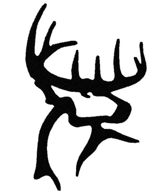 Buck Filled Embroidery Design