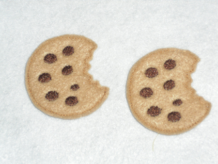 Cookie for Felt Embroidery Design