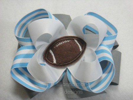 Football for Felt Applique Embroidery Design