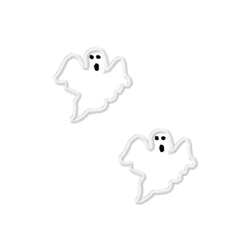 Ghost Felt 3 Applique Embroidery Design