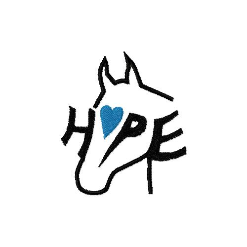 Horses for Hope Embroidery Design