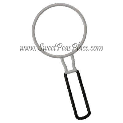 Magnifying Glass for Vinyl Applique Embroidery Design